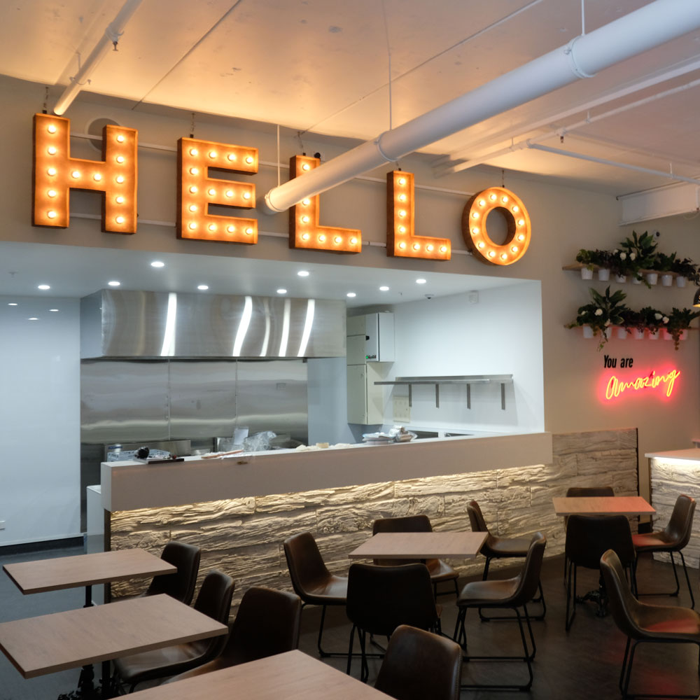 Online reservations at Hello Restaurant